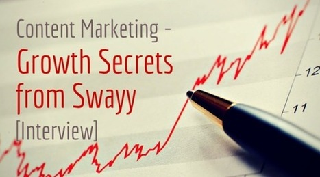 Content Marketing – Growth Secrets from Swayy [Interview] | Content Creation, Curation, Management | Scoop.it
