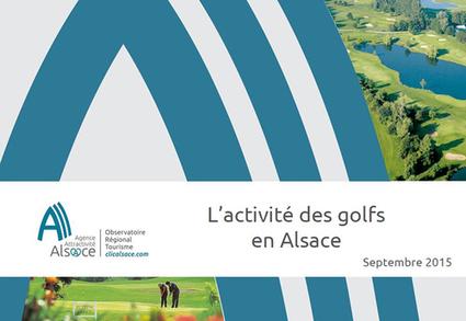 L'activité des golfs en Alsace en 2014 - Observatoire Tourisme - ORTA | Le site www.clicalsace.com | Scoop.it