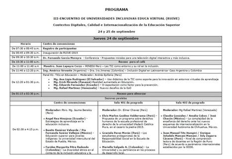 Descargue el Programa - RUIVE-2015: - RedDOLAC - Red de Docentes de América Latina y del Caribe - | RedDOLAC | Scoop.it