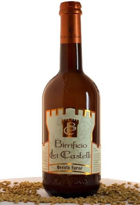 Not only Wine in Le Marche: Brevis Furor - Birrificio dei Castelli, Italian Amber Ale - Fermented in the bottle | Wines and People | Scoop.it