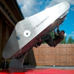 Climbing Wall Treadmill: Exercise Machine Rocks Your House ... | Adventure Sports & Travel | Scoop.it