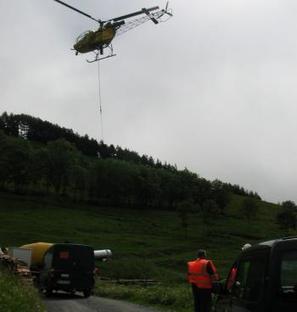 Aspin-Aure. ERDF remplace la ligne 20 000 volts | Vallée d'Aure - Pyrénées | Scoop.it