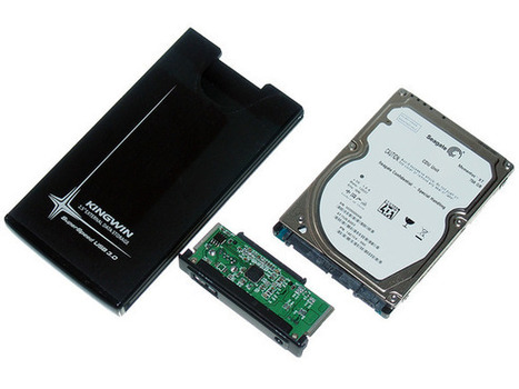 It's cheap and easy to make your own portable hard drive from an old PC drive | Free Tutorials in EN, FR, DE | Scoop.it