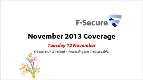 November Coverage (12th) | F-Secure Coverage (UK) | Scoop.it