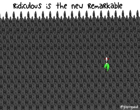 Seth's Blog: Ridiculous is the new remarkable | NYL - News YOU Like | Scoop.it
