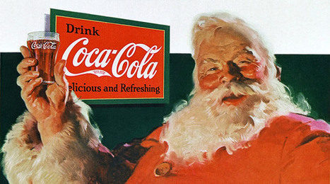 The True History of the Modern Day Santa Claus | Advertisinghistory | Scoop.it