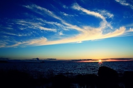 Anders Stolt – Google+ - Vättern i kväll strax innan solen gick ner. :) #sunset … | My Google+ | Scoop.it
