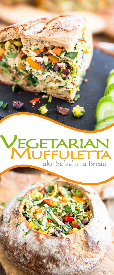 Vegetarian Muffuletta | Passion for Cooking | Scoop.it
