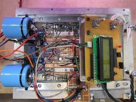 Fuente de laboratorio digital casera | Electronica | Scoop.it