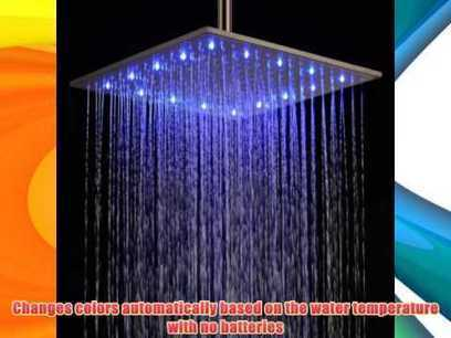 LED Colors Changing 8 Inches Rain Square Bathroom<br/><br/><br/>LED Colors Changing 8&hellip; | *** Special offer | Scoop.it