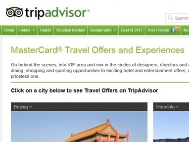 TripAdvisor offers special MasterCard deals - Travel Daily Media | Travel (K)Now More | Scoop.it