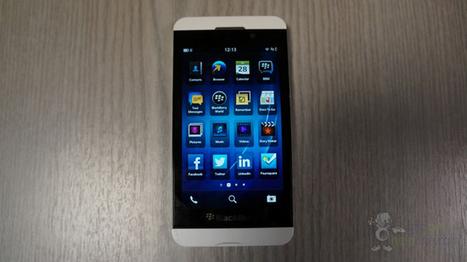 BlackBerry Z10 blanco, nuevas imágenes de esta versión   MobileWorld   Scoop.it
