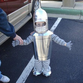 We want to pinch the cutest Bender's shiny metal face cheeks | Cosplay News | Scoop.it