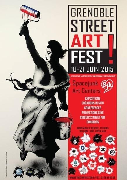 Grenoble Street Art Festival | Rap , RNB , culture urbaine et buzz | Scoop.it
