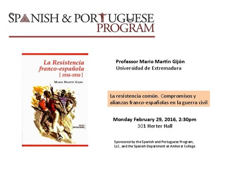 Professor Mario Martín Gijón to present at U Mass | The UMass Amherst Spanish & Portuguese Program Newsletter | Scoop.it