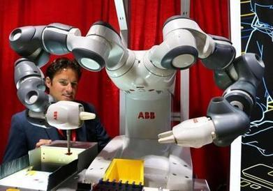 When robots become team players - The Boston Globe | The Robot Times | Scoop.it