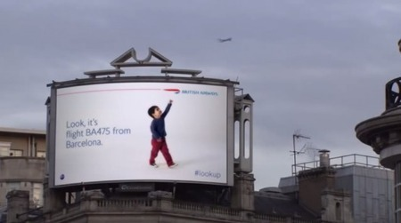 Creative British Airways billboard identifies planes that fly overhead | Integrated Marketing Communications | Scoop.it