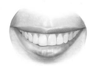 Come disegnare una bocca realistica e i denti   Circolo d'Arti   Scoop.it