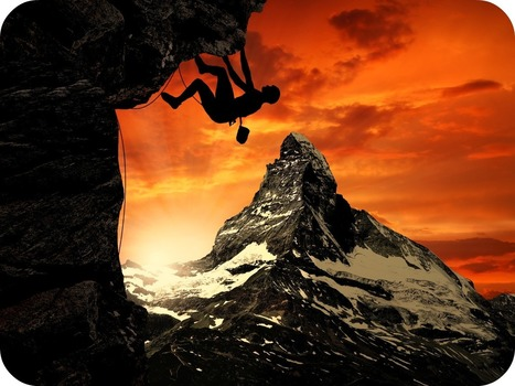 With a Total Commitment and Complete Dedication, we can Across every Mountain Ahead of us - Jan Jansen | Daily Poetry and Stories Portal | Scoop.it