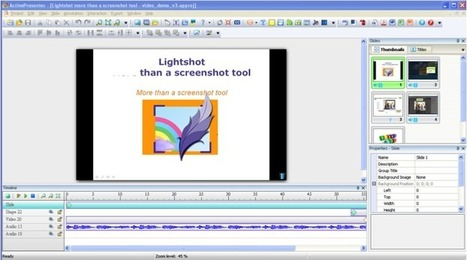 Crea tu Screencast con ActivePresenter (Parte 1) | Recursos TIC | Scoop.it