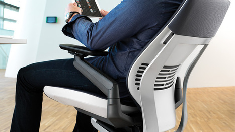 Steelcase Gesture Chair   Technology Improvements and Evolution of the Society   Scoop.it