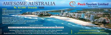 AWESOME AUSTRALIA | International Tour & Holiday Packages from India | International Tour & Holiday Packages from Delhi,  India. Book World Honeymoon Tour Packages at Pearlstourism.net | Scoop.it