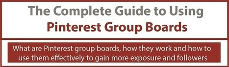 The Complete Guide to Pinterest Group Boards [Infographic] - Business 2 Community | Everything Pinterest | Scoop.it