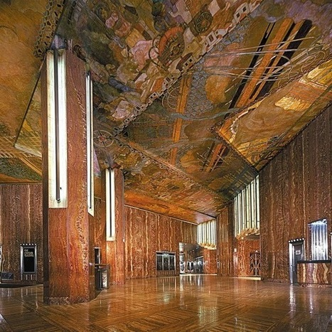 USA: Hidden Architecture - Chrysler Building – Lobby and Observatory | artexpo | Scoop.it