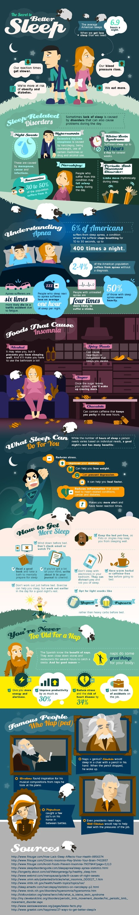 The Secret to Better Sleep {Infographic} | InfoGraphics | Scoop.it