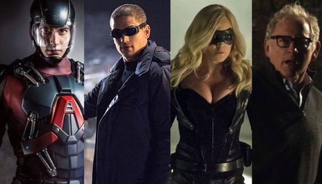 Arrow's Stephen Amell, The Flash's Andrew Kreisberg Dish On the Spinoff Series | ARROWTV | Scoop.it