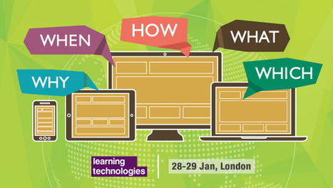 Learning Technologies 2015 Conference Pass, Up For Grabs! | MobileLearning | Scoop.it