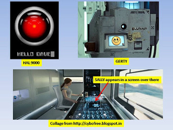 CYBOFREE : HAL, GERTY and now SALLY : Common Dystopian themes in Oblivion, Moon and Space Odyssey | Cybofree : Techno Social Issues for a Postmodern Transhuman Society | Scoop.it