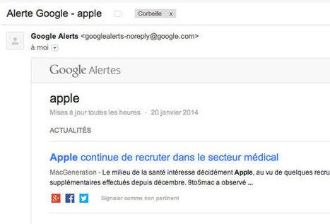 Google Alertes mise à jour : une interface plus claire | François MAGNAN  Formateur Consultant | Scoop.it