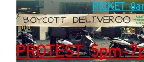 London Deliveroo drivers crowdfund protests over new pricingmodel | Delivery | Scoop.it