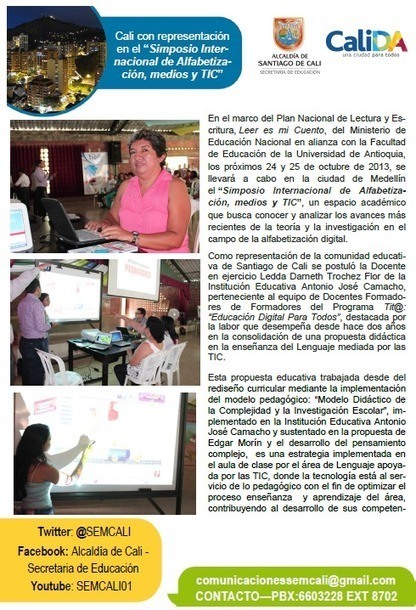 Boletín Digital - Octubre 2013 - Alcaldía de Cali - Secretaría de Educación | Facebook | Educación Digital para Todos- Formador | Scoop.it