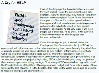 Anti-Gay Hate Group FRC Cries About ENDA | Daily Crew | Scoop.it