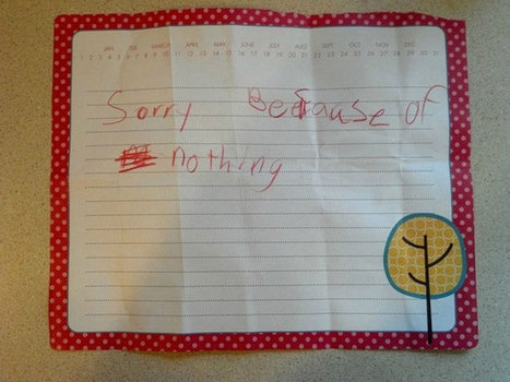 30 Kids Who Wrote The Meanest Notes Ever. I Should Feel Bad...But I Can't Stop Laughing! | reading and writing | Scoop.it