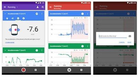 Google Science Journal, herramienta para hacer experimentos con tu smartphone Android | Beagle en la enseñanza | Scoop.it