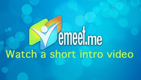 Easy Web-Based Videoconference and Screen-Sharing with eMeet ...   Online Conferencing   Scoop.it