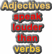 Adjective and verb exercise | Early Childhood Activities for Lessons | Scoop.it
