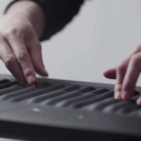 "Roli's Seaboard GRAND Is New Take on the Piano | L'impresa ""mobile"" | Scoop.it"