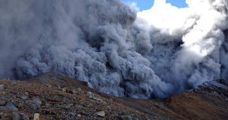 Spectaculaire #éruption volcanique au centre du #Japon | What makes Japan unique | Scoop.it
