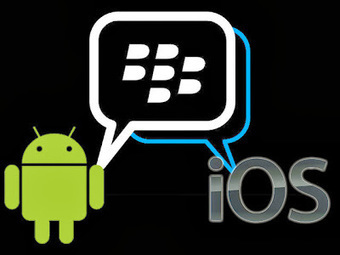 The Programmer's World : Blackberry Finally Rollout BBM For Android, iOS Users | Android World | Scoop.it