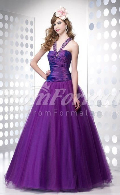 Exquisite Organza One Shoulder Ball Gown Floor-length Evening Dress(PRJT04-0558) - promformal.co.uk | Prom & Formal | Scoop.it