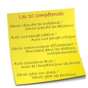 Le cartable des compétences psychosociales || IREPS Pays de la Loire | CPE SOCLE COMMUN | Scoop.it