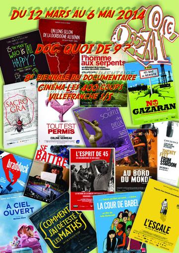 Doc, quoi de 9 ? 8ème biennale du documentaire du 12 mars au 6 mai Les 400 Coups #Villefranche | Romans régionaux BD Polars Histoire | Scoop.it
