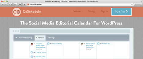 Can the Co-Schedule editorial calendar help me blog better? - Bod for tea | Blogging fast | Scoop.it