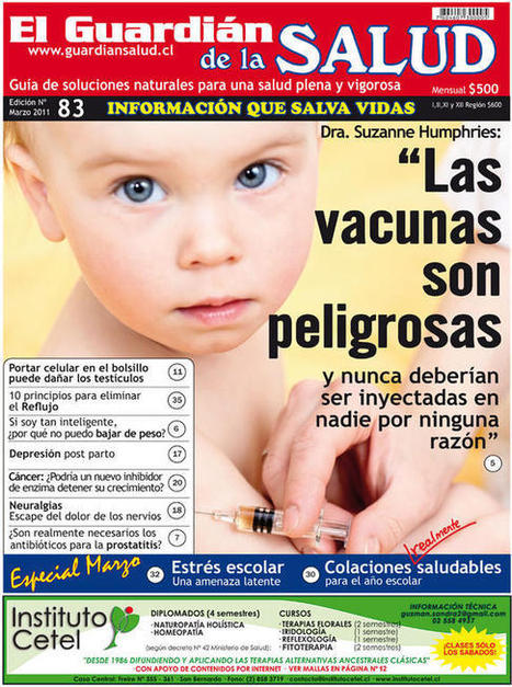 El movimiento antivacunas amenaza la salud mundial | Immunology for University Students | Scoop.it