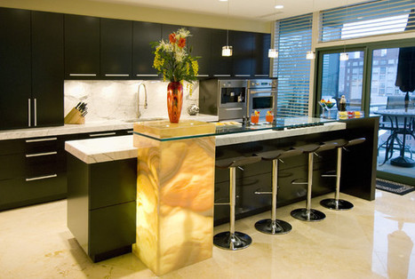 38 Fabulous Kitchen Island Designs - Architecture Art Designs | All Things Kitchen and Bath | Scoop.it