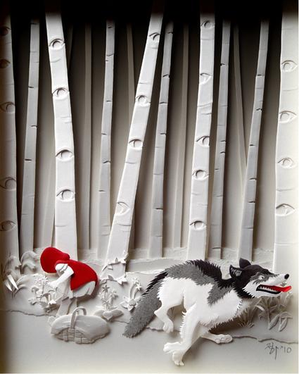 Sculptures papier par l'artiste Cheong-ah Hwang | Socialart | Scoop.it